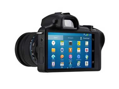 The Samsung Galaxy NX Camera. Image from Samsung