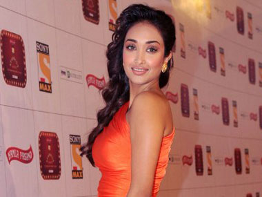 Jiah Khan. AFP