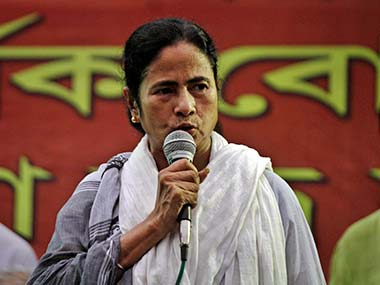 Mamata Banerjee in this file photo. AP