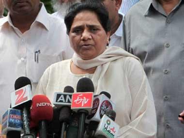 File photo of Mayawati. PTI