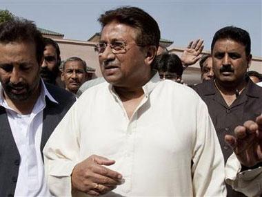 Pervez Musharraf. AP photo
