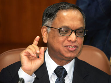 Narayana Murthy, Co-Founder, Infosys. Reuters