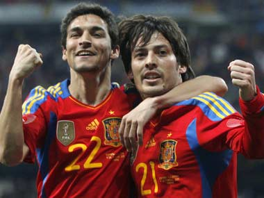 Jesus Navas will leave Sevilla after 10 seasons and join up with international team mate David Silva at City. Reuters