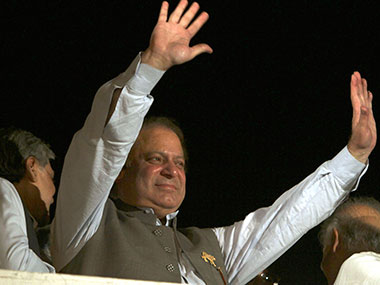 Nawaz Sharif, the new PM of Pakistan in this file photo. AP