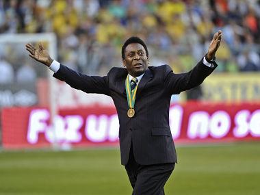 File photo of Brazilian legend Pele. Reuters