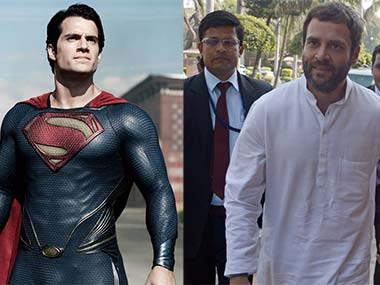 Man of Steel is Rahul Gandhi. Agencies