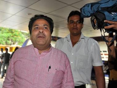 Rajeev Shukla. AFP