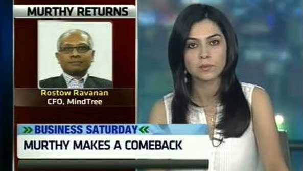 Murthy will focus on getting back Infy's revenue growth: Mindtree