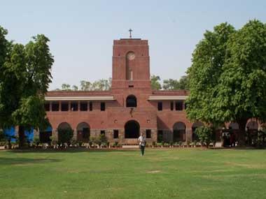 St Stephen's College Delhi.