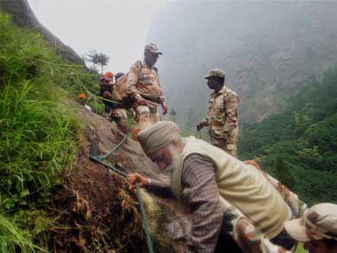 Rescue missions are still on in Uttarakhand. PTI