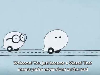 Screengrab from Waze YouTube  video.