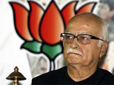 The political pout ill befits 'Iron Man LK Advani.