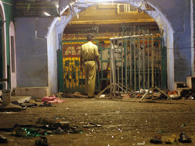 The scene of the 2006 Malegaon blasts. AFP