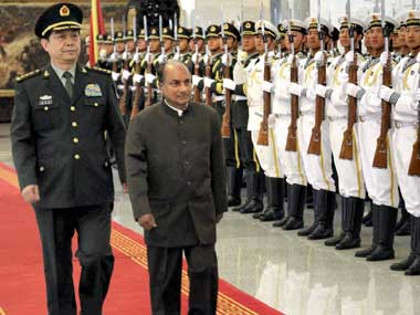 Antony is presently in China. PTI