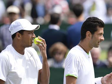 Bhupathi and his Austrian pair Julian Knowle, seeded eight, also had to battle it out in a four setter. AFP