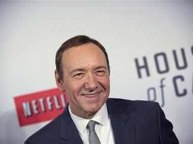 Kevin Spacey stars in House of Cards. Reuters