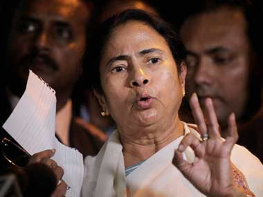 Trinamool Congress Chief Mamata Banerjee. PTI