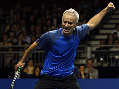 McEnroe has become quite the crowd puller himself. Reuters