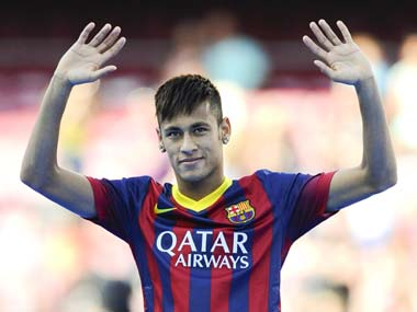 Neymar will be aware that strikers and Messi do not get along at Barcelona. Getty Images