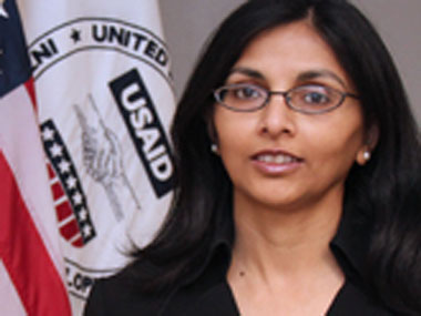 Nisha Desai Biswal. Image: USAID website