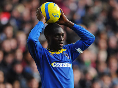Kenyan Osano is a product of the Reading academy and has last played for League Two side AFC Wimbledon. Getty Images