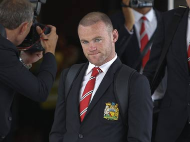 Rooney returned home after only one day in Thailand and is expected to be out of action for a month. Reuters