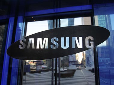 Samsung logo is seen in this file photo. Getty Images