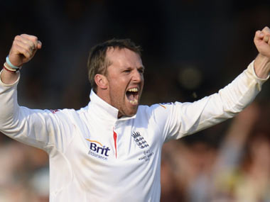 The 34-year-old Swann went into the second Ashes test against Australia at Lord's with 226 wickets to his name. Reuters