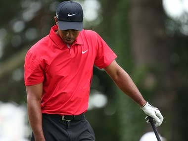 Tiger Woods struggled at the US Open with an injured elbow. Reuters