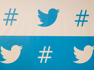 A representative image of the Twitter logos. AFP