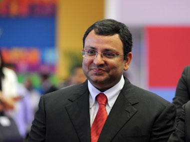 Cyrus Mistry. File photo. AFP.