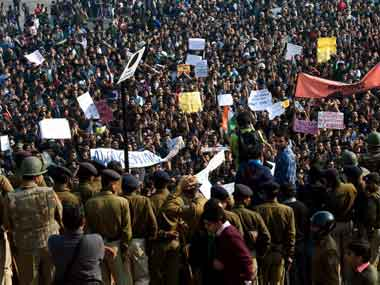 Protesting crime against women. Naresh Sharma/Firstpost