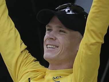 Chris Froome has all but won the Tour. AP