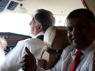 Pic: Tony Fernandes' Twitter handle