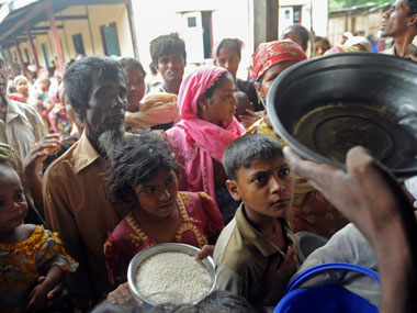 Rohingya Muslim refugees in Myanmar. File photo. AFP.
