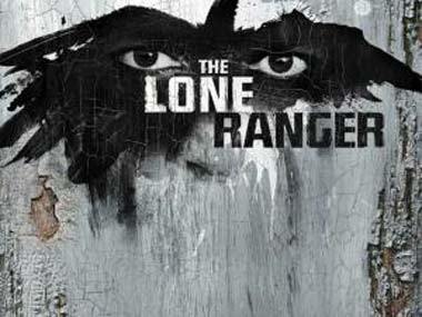 The poster from the Lone Ranger