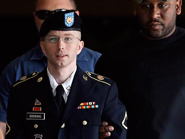 File photo of Bradley Manning: AP
