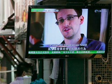 Whistleblower Edward Snowden. AP