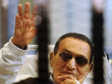 Hosni Mubarak in this file photo. Reuters