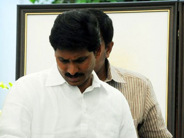 Jagan Mohan Reddy. AFP