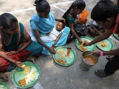 Lacking right food. AFP