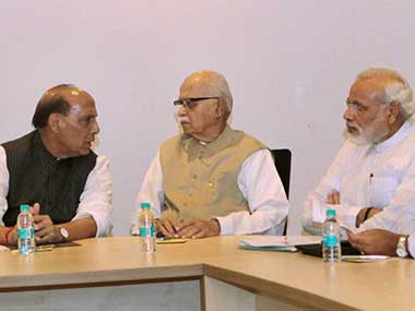 The BJP will meet to finalise their poll strategy: PTI