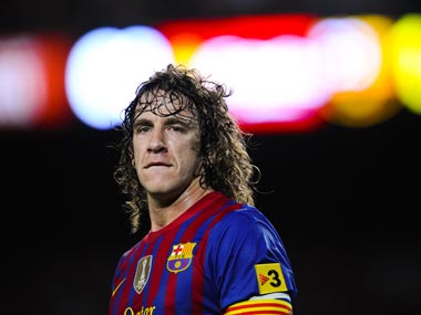 Carles Puyol is Martino's first choice at centre-back. Getty Images