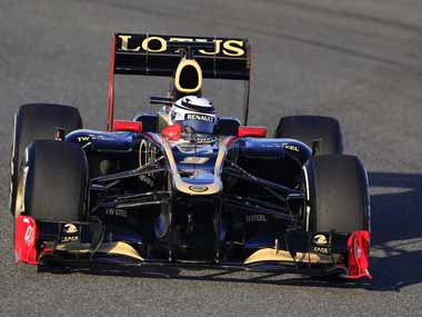 Lotus wants to keep Kimi Raikkonen in its car. Reuters
