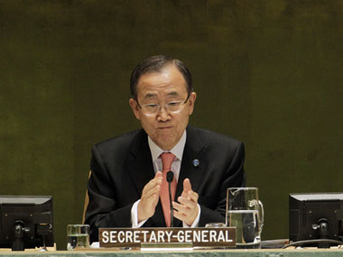 Ban Ki-moon. Agencies.