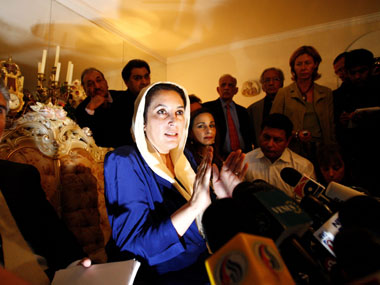 File image of former Pakistan prime minister Benazir Bhutto. Reuters
