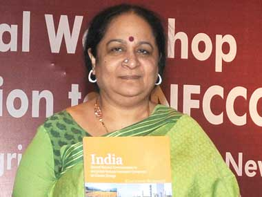 Environment and Forest minister Jayanthi Natarajan. Image courtesy PIB