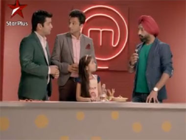 A promotional campaign from Junior Masterchef Swad Ka Ustaad. Image courtesy: YouTube