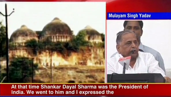SD Sharma knew that Babri Masjid would be demolished