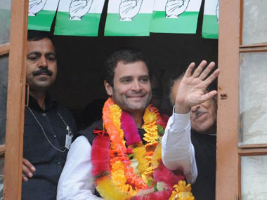Rahul Gandhi is said to have told party members to become online savvy. AFP.